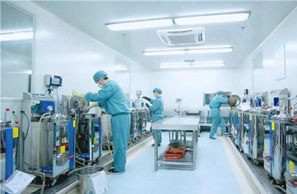 Leak detection method of high efficiency air filter in pharmaceutical factory